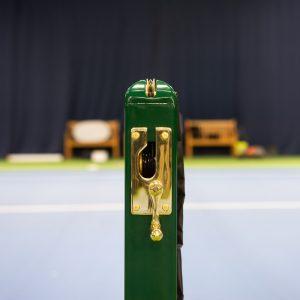 Square Tennis Post