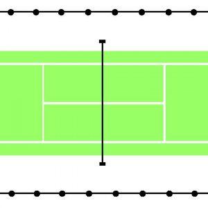 Grass Court Total Surround Netting
