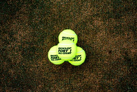 DF Tennis Ball Pyramid