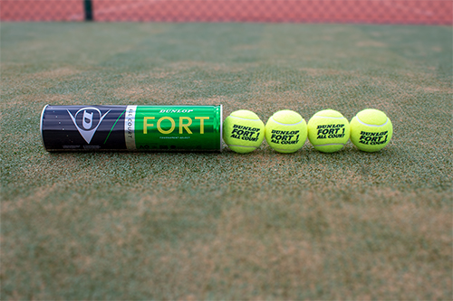 DF Tennis Ball 4 Ball Tube Spill